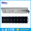 HOT! 50000hs Life All in One Solar LED Street Light 25W with CE&ROHS IP65 from China Manufacturer