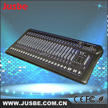 Factory price 24 channel high sound quality studio mixer dj music audio mixer