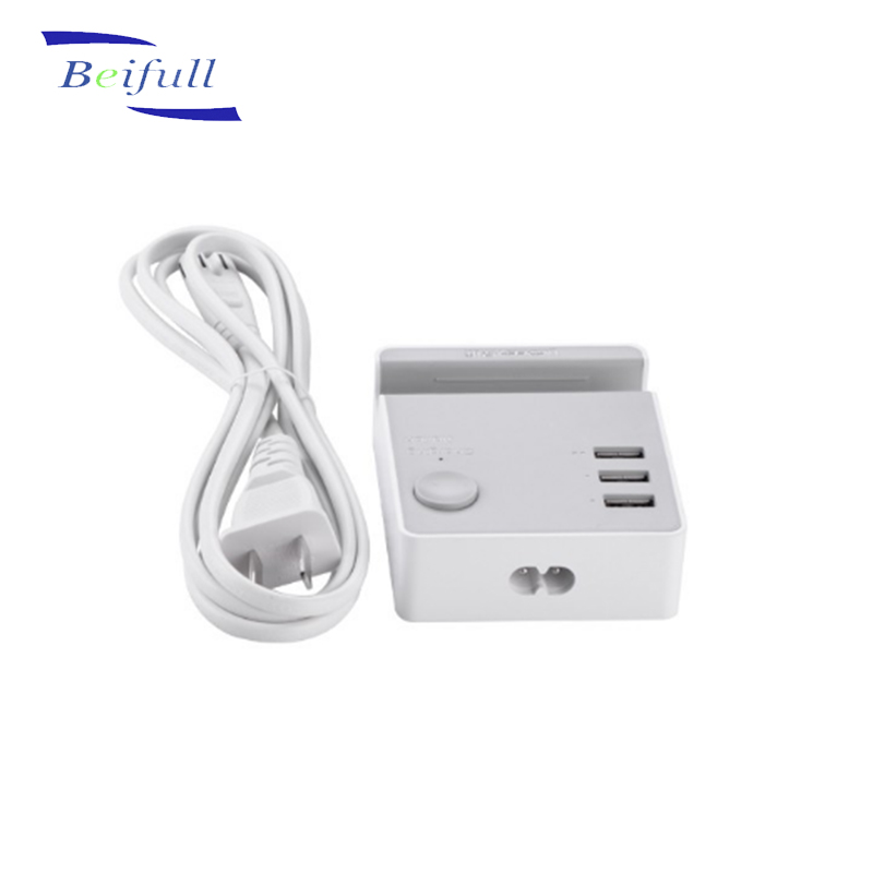 USB portable mobile phone desktop charger with 3 ports <strong>Max</strong> 5V 4A wholesale