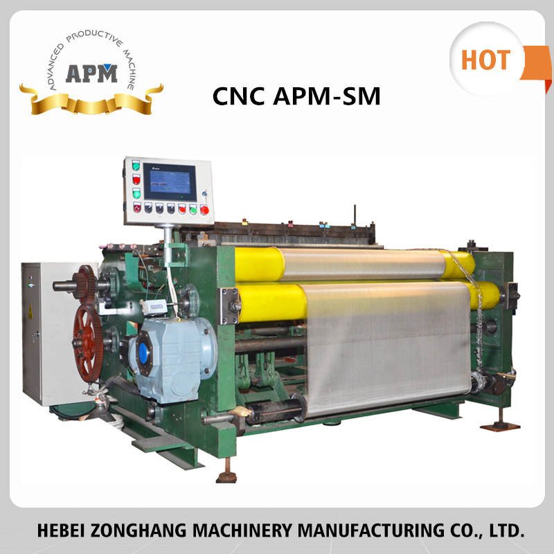 APM ss wire mesh basket making machine popular in India