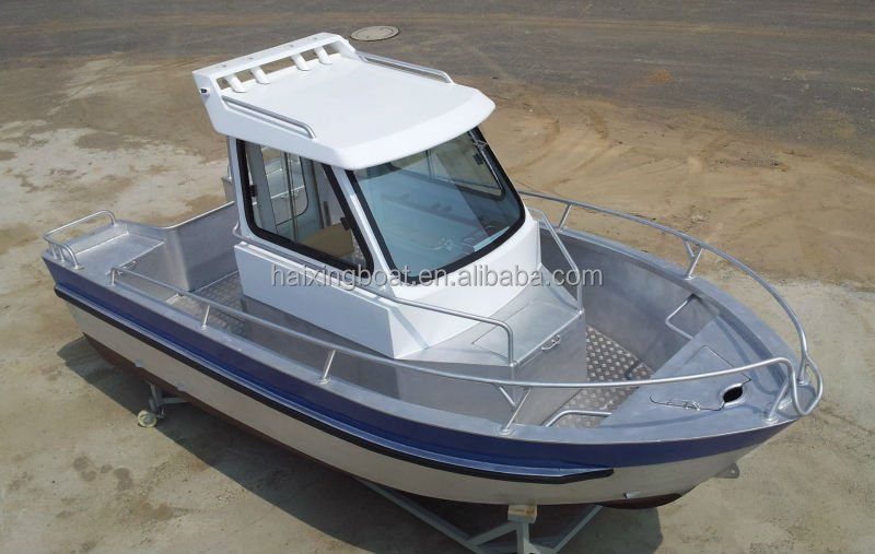 Aluminium patrol boat with high quality