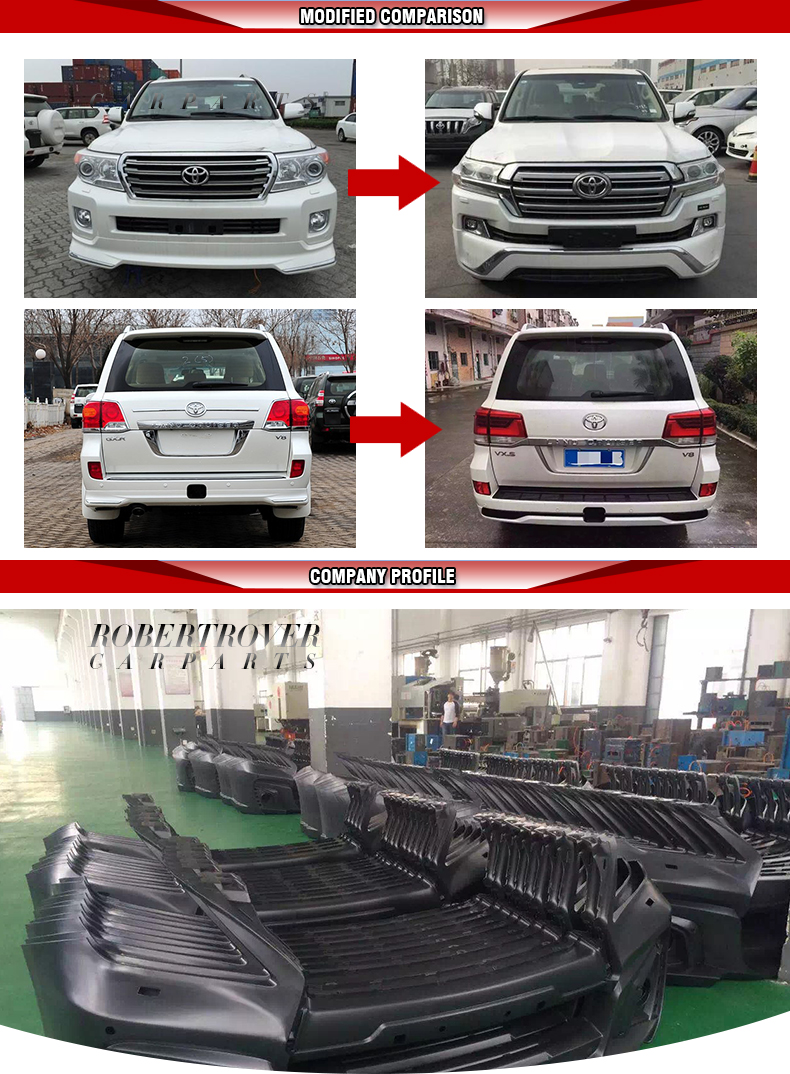Professional supplier sale FJ200 LC200 2016 land cruiser elford body kit