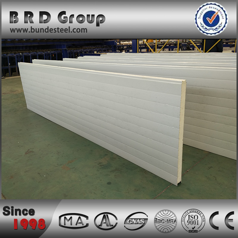 Preferred by steel structure buildings light weight polyurethane sandwich wall panel