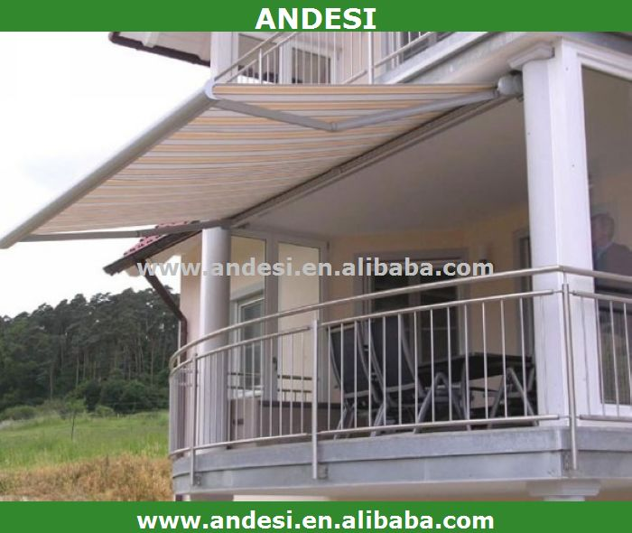 conservatory awning verticle retractable canvas canopy
