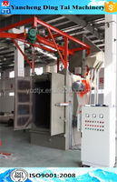 Bicycle frame hanger type sand blasting machine/shot blast equipment for sale
