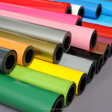 PU based Fluorescent heat transfer vinyl roll for t shirts