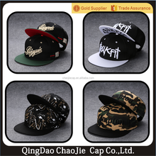 wholesale custom snapback hats and caps with embroidery