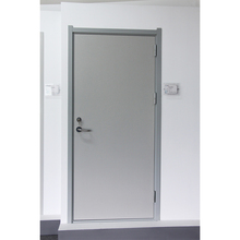 Top Selling white panel Emergency access wooden interior fire exit door