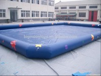 High quality inflatable PVC swimming pool for water products inflatable water pond with paddler boat