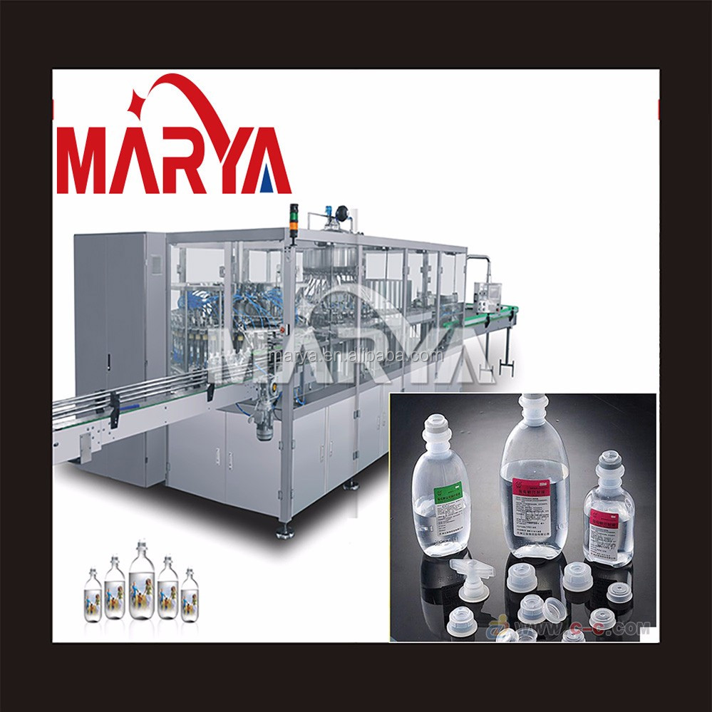 500ml large volume normal saline bottle I.V. production line