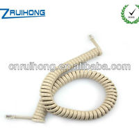 Top Quality Copper PVC Jacket Coiled