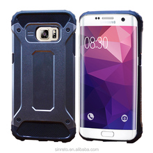 Heavy Duty Armor Slim Hard Tough Rubber Cover Silicone Phone Case for Samsung S7 Edge 2016