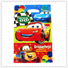 wholesale distributors party supplies Cars printed loot bags