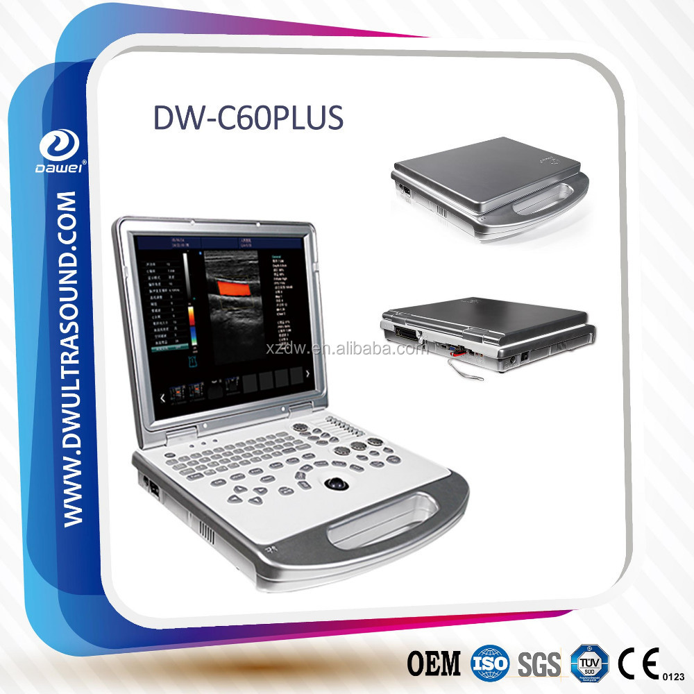 DW-C60 Laptop Color Doppler ultrasound better than Mindray M7