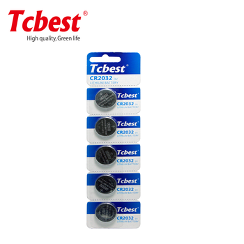 dry batteries watch cr2032 battery from Tcbest Battery China Manufacturer