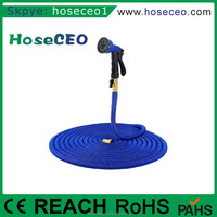 2016 Hot Sales Hoseceo Rubber Magic Car Wash Canvas Extensible Automatic Garden Water Hose Reel