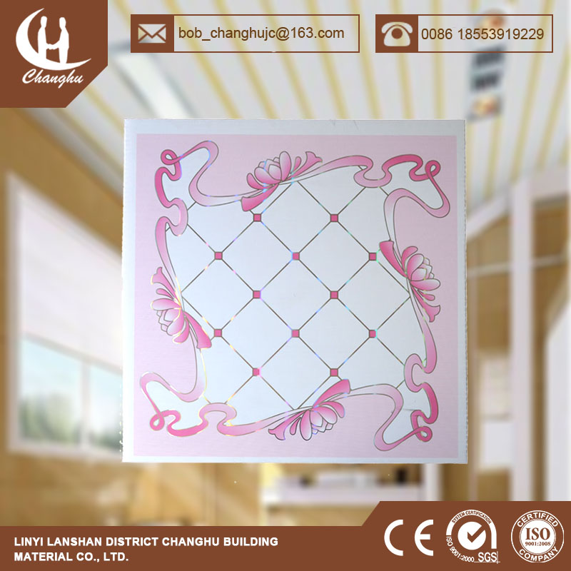 build materials 2014 wood printing pvc ceilings for decoration building materials