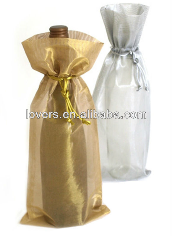 cheap organza bag organza wine bag