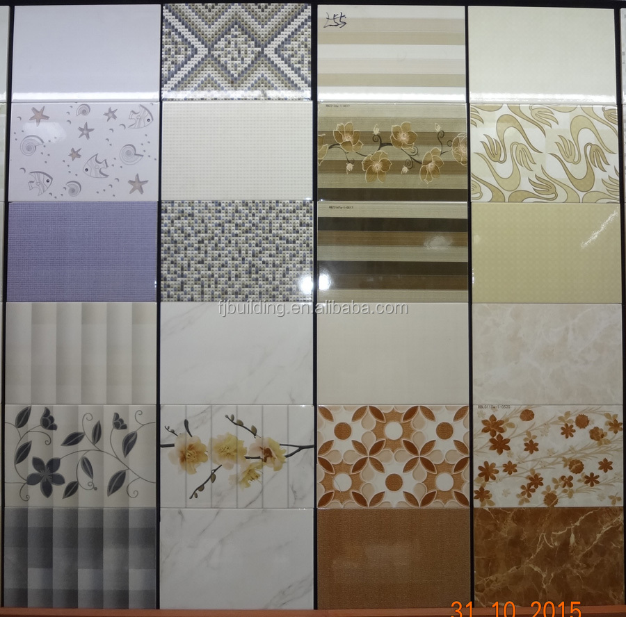 2015 New Design 3d Ceramic Wall Tile Bathroom Wall Digital Tiles 30x45 Outside Wall Tiles Design