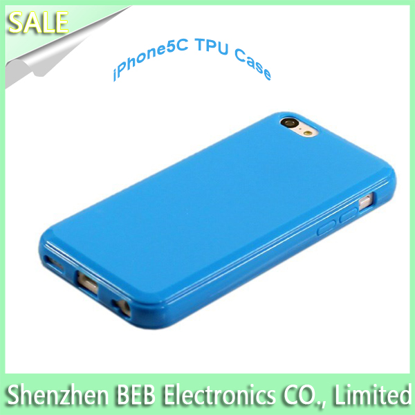 For iPhone 5C tpu phone case has low price high quality