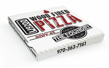 Cheap frozen food box packaging pizza delivery box accept OEM