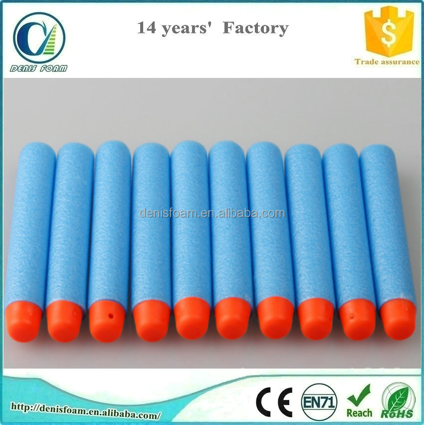Eva foam soft bullet for toy gun