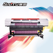 Advanced technology Eco solvent printer for advertising pictorials with CE certificate