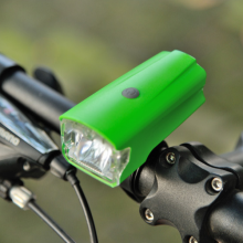 Practical USB Rechargeable Bicycle Light High Brightness LED 420LUX Front