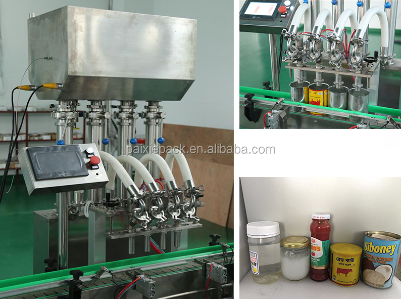 CE certification automatic shea butter filling machine,jam filling machine paste filling machine