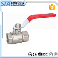 ART.1009 Manufacture In China Manual Operated Forged 1/2 Inch DN15 Brass Ball Valve Water Flow Control Valve With ISO Cetificate