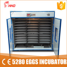 3 years warranty 5280 chicken eggs industrial 5000 eggs incubator price for sale in kerala from Howard YZITE-24