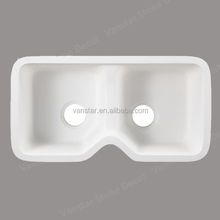 Wholesale PMMA Polymer Corians Solid Surface Undermount Kitchen Sink