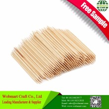 Food Grade Double Point Bamboo Decorative Party Toothpicks