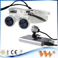 3w led bulb 2013 new style 3.5x 420mm dental magnifying loupes made in china