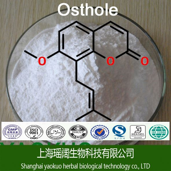 2016 Touchhealthy Supply 100% Natural Pure Osthole 20% 484-12-8/Cnidium Monnieri Extract