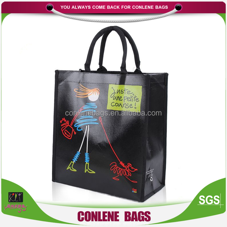 China Online Shopping Pp Non-Woven Grocery Bags
