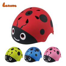 Cartoon ABS safety kids helmet skateboard/bike helmet with visor custom helmet