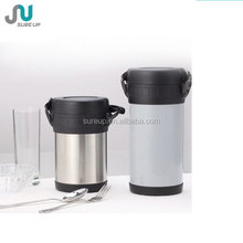 Double wall stainless steel table thermos food warmer pot for lunch(CSUA)
