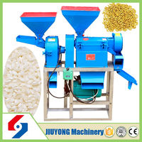 Practical and affordable combined function mini rice mill project report