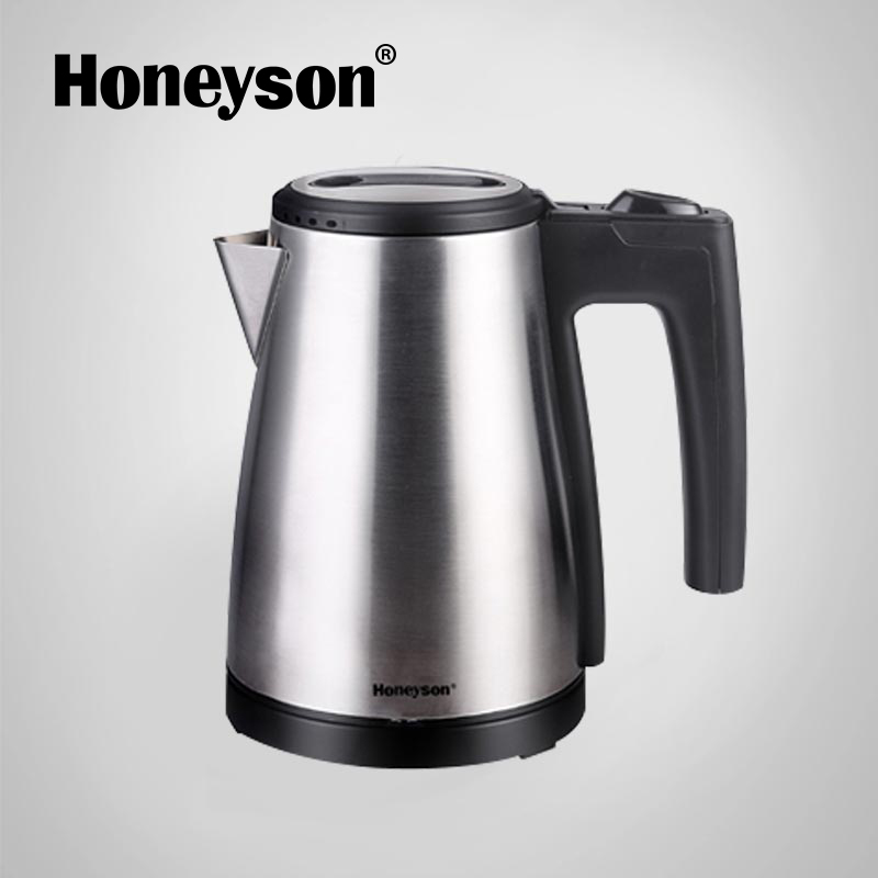 Honeyson new hotel room electric stainless steel metal teapot