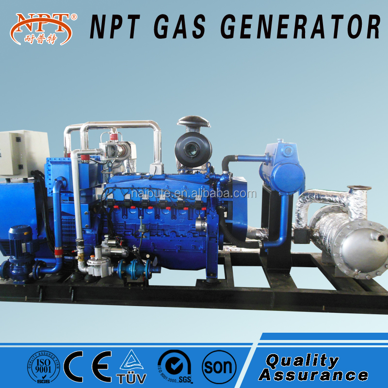 Natural gas/biogas/Biomass gas/LPG/ wood chips gas power plant