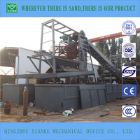 Factory price gold mining dredge boat