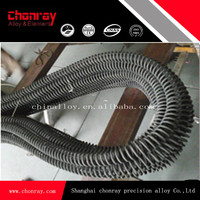 FeCrAl spiral resistance coil heating element for industrial furnace/oven/tank