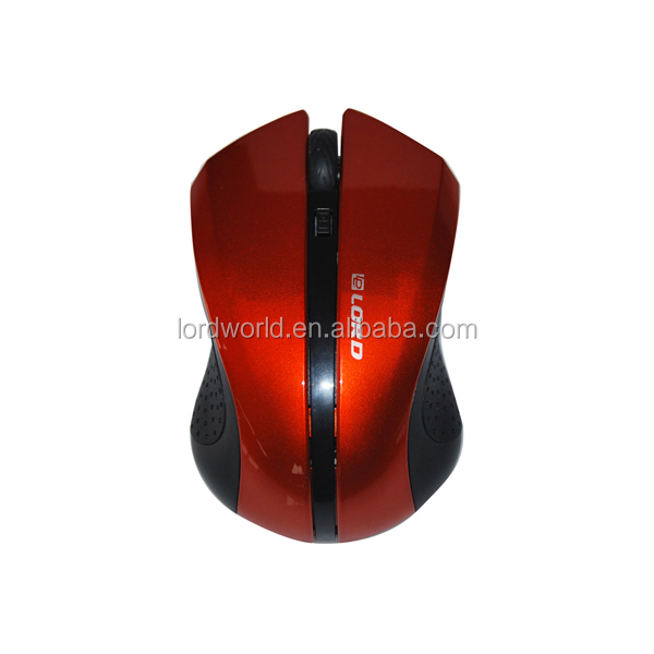 wholesale custom cute ABS 10m unique 2.4g optical wireless gaming computer mouse with nice package