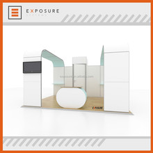 Quick lock 4mx5m booth aluminum frame trade show display