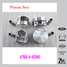 High quality Auto Piston set & Car Engine Piston KIT set 479Q-11-102M2 for Haima mazda famila