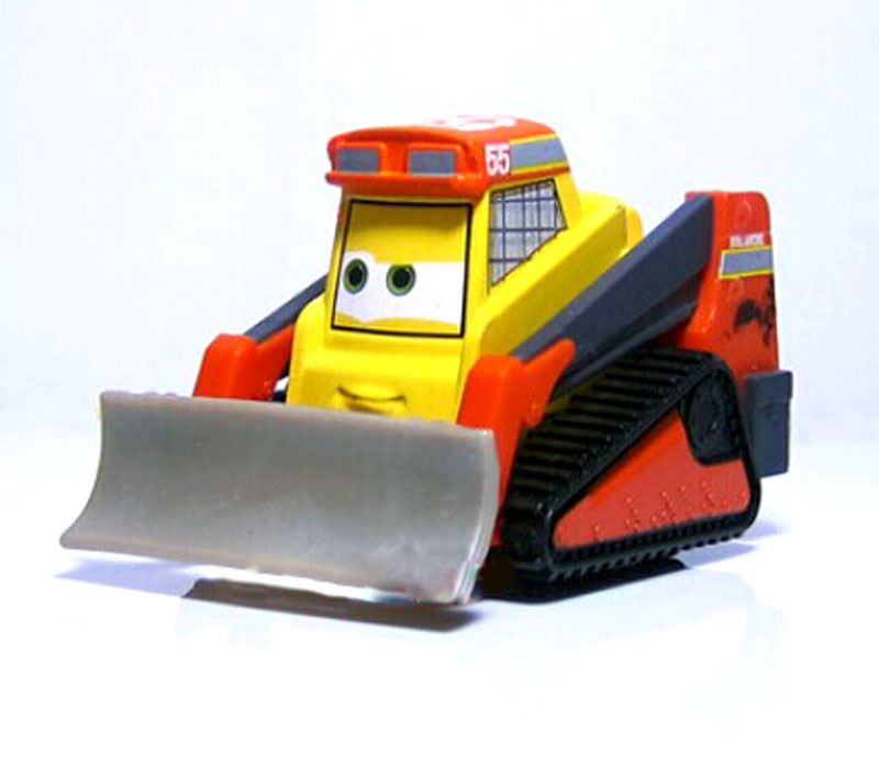 100% Original Pixar Planes Wings Around the Globel Avalanche Bulldozer 1:55 Diecast Kids Toys Plane Toys For Children Loose