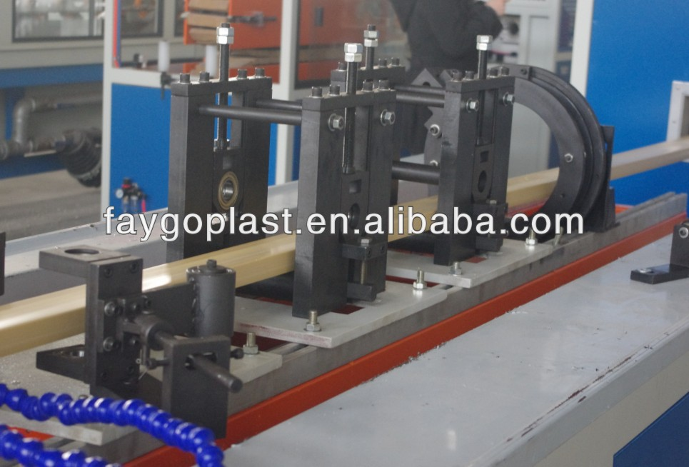 WPC Wood plastic composite WPC machine manufacturer / WPC production line