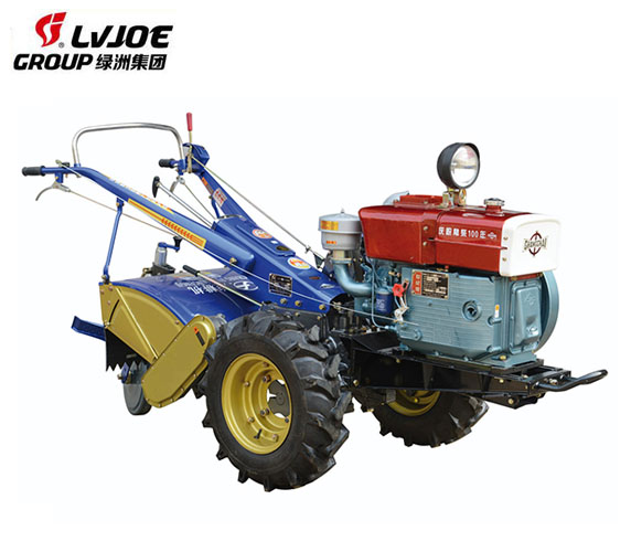 12Hp 15Hp 18Hp mini farm two wheel tractor with rotary tiller