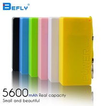 Hot Sale 2016 New 5600mAh USB Portable External Backup Battery Charger Power Bank For Mobile Phone